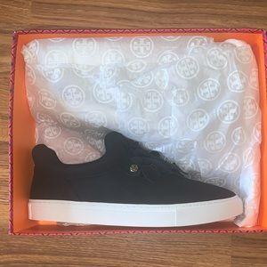 Black Floral Tory Burch Sneaker Size 11